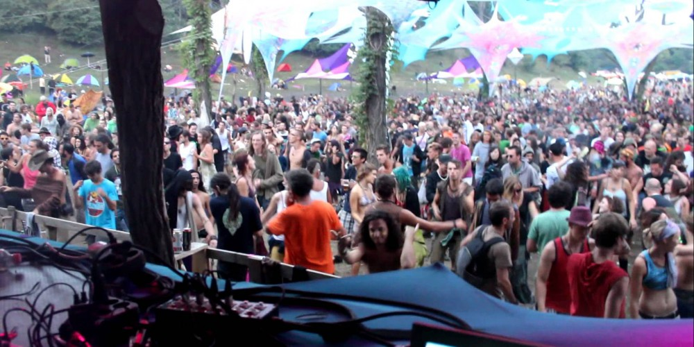 Penta Dance floor at Ozora festival 2011, Hungary